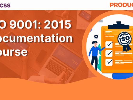 ISO 9001_2015 Documentation Course