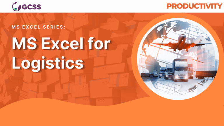 MS Excel for Logistics