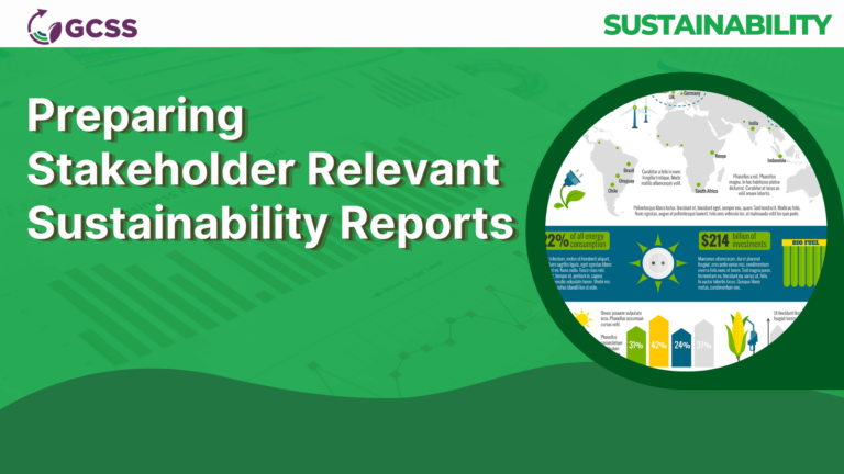 Preparing Stakeholder Relevant Sustainability Reports